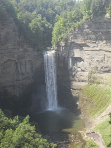 Reading Rilke for me is like listening to a waterfall, coming from a far, distant and near at the same time. I took this picture of Taughannock falls in Ithaca, NY on June 26, 2015.