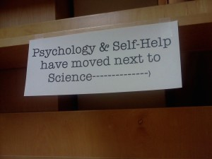 Sign at Buffalo bookstore in Ithaca